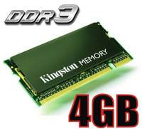 MEMORIA 4GB DDR3 KINGSTON SODIMM 1333mhz